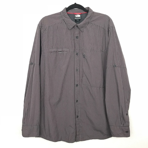 The North Face Other - The North Face Stripe Button Down Shirt Sz XL